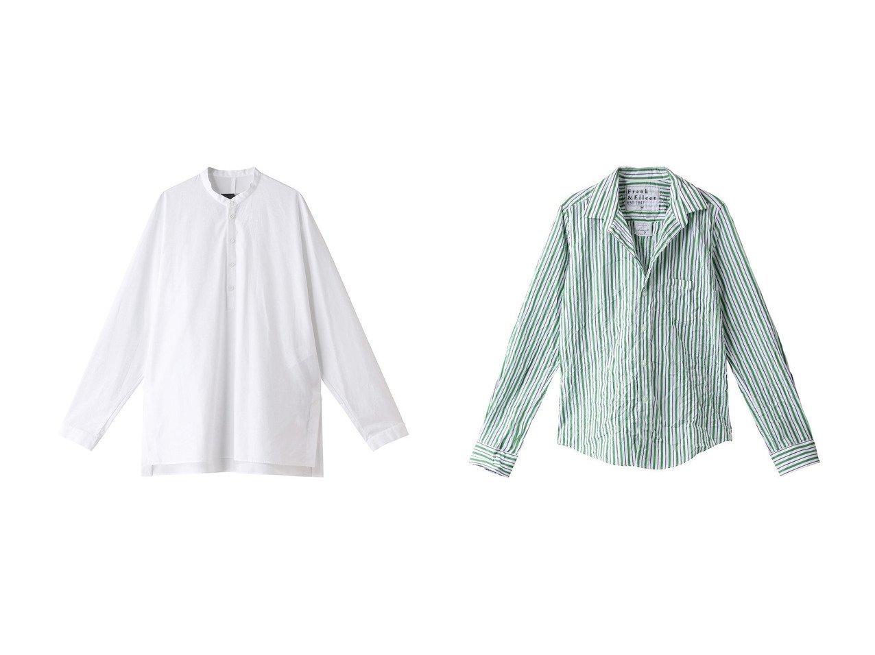 【Frank&Eileen/フランク&アイリーン】のBARRY LIMITED EDITION イタリアンコットン マルチストライプシャツ&【ATON/エイトン】の【UNISEX】SUVINブロードバンドカラーシャツ 【トップス・カットソー】おすすめ!人気、トレンド・レディースファッションの通販 おすすめで人気の流行・トレンド、ファッションの通販商品 インテリア・家具・メンズファッション・キッズファッション・レディースファッション・服の通販 founy(ファニー) https://founy.com/ ファッション Fashion レディースファッション WOMEN トップス・カットソー Tops/Tshirt シャツ/ブラウス Shirts/Blouses 2020年 2020 2020-2021秋冬・A/W AW・Autumn/Winter・FW・Fall-Winter/2020-2021 2021年 2021 2021-2022秋冬・A/W AW・Autumn/Winter・FW・Fall-Winter・2021-2022 A/W・秋冬 AW・Autumn/Winter・FW・Fall-Winter UNISEX インド カフス スリット スリーブ ブロード リラックス ロング |ID:crp329100000062701