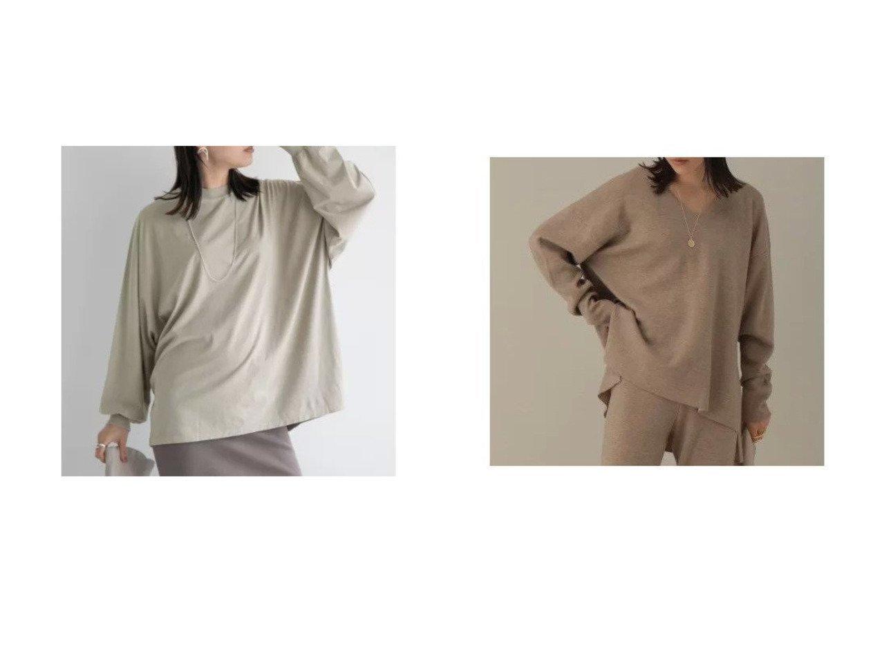 【Chaos/カオス】の【REMI RELIEF】別注ロングTシャツ&ラマーリバーVネックプルオーバー 【トップス・カットソー】おすすめ!人気、トレンド・レディースファッションの通販 おすすめで人気の流行・トレンド、ファッションの通販商品 インテリア・家具・メンズファッション・キッズファッション・レディースファッション・服の通販 founy(ファニー) https://founy.com/ ファッション Fashion レディースファッション WOMEN トップス・カットソー Tops/Tshirt シャツ/ブラウス Shirts/Blouses ロング / Tシャツ T-Shirts カットソー Cut and Sewn プルオーバー Pullover Vネック V-Neck アメリカン ヴィンテージ カットソー コンパクト 長袖 パターン プリント ベーシック 別注 ロング ワーク おすすめ Recommend ダブル フェイス |ID:crp329100000062704