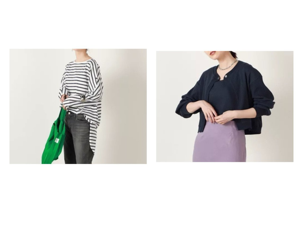【NOLLEY'S/ノーリーズ】の【ルミノア】FEMME ROUNDY ボーダーカットソー&レイヤードカットソー 【トップス・カットソー】おすすめ!人気、トレンド・レディースファッションの通販 おすすめで人気の流行・トレンド、ファッションの通販商品 インテリア・家具・メンズファッション・キッズファッション・レディースファッション・服の通販 founy(ファニー) https://founy.com/ ファッション Fashion レディースファッション WOMEN トップス・カットソー Tops/Tshirt シャツ/ブラウス Shirts/Blouses ロング / Tシャツ T-Shirts カットソー Cut and Sewn 2021年 2021 2021-2022秋冬・A/W AW・Autumn/Winter・FW・Fall-Winter・2021-2022 A/W・秋冬 AW・Autumn/Winter・FW・Fall-Winter カットソー フランス フロント ベーシック ボーダー 長袖 |ID:crp329100000062712