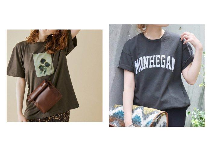 【JOURNAL STANDARD/ジャーナルスタンダード】の【スラッピー】 SHORT SLEEVE TEE Tシャツ 2&【ROPE' mademoiselle/ロペ マドモアゼル】の【VTA for MADEMOISELLE】フラワーフォトショートスリーブ Tシャツ 【トップス・カットソー】おすすめ!人気、トレンド・レディースファッションの通販 おすすめ人気トレンドファッション通販アイテム 人気、トレンドファッション・服の通販 founy(ファニー) ファッション Fashion レディースファッション WOMEN トップス・カットソー Tops/Tshirt シャツ/ブラウス Shirts/Blouses ロング / Tシャツ T-Shirts カットソー Cut and Sewn カットソー フラワー プリント ポケット ワーク 夏 Summer NEW・新作・新着・新入荷 New Arrivals 2021年 2021 2021春夏・S/S SS/Spring/Summer/2021 S/S・春夏 SS・Spring/Summer |ID:crp329100000062714