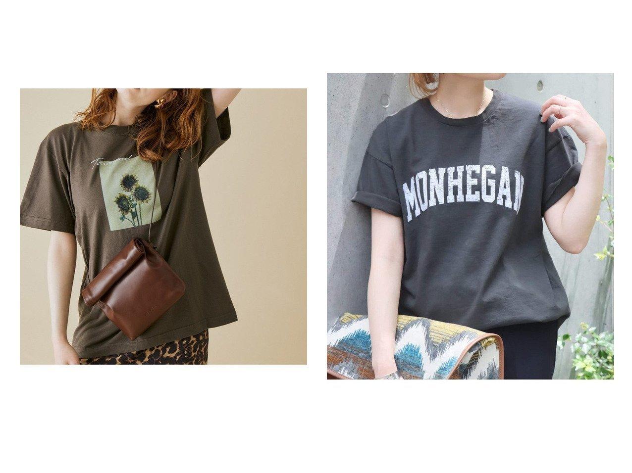 【JOURNAL STANDARD/ジャーナルスタンダード】の【スラッピー】 SHORT SLEEVE TEE Tシャツ 2&【ROPE' mademoiselle/ロペ マドモアゼル】の【VTA for MADEMOISELLE】フラワーフォトショートスリーブ Tシャツ 【トップス・カットソー】おすすめ!人気、トレンド・レディースファッションの通販 おすすめで人気の流行・トレンド、ファッションの通販商品 インテリア・家具・メンズファッション・キッズファッション・レディースファッション・服の通販 founy(ファニー) https://founy.com/ ファッション Fashion レディースファッション WOMEN トップス・カットソー Tops/Tshirt シャツ/ブラウス Shirts/Blouses ロング / Tシャツ T-Shirts カットソー Cut and Sewn カットソー フラワー プリント ポケット ワーク 夏 Summer NEW・新作・新着・新入荷 New Arrivals 2021年 2021 2021春夏・S/S SS/Spring/Summer/2021 S/S・春夏 SS・Spring/Summer |ID:crp329100000062714
