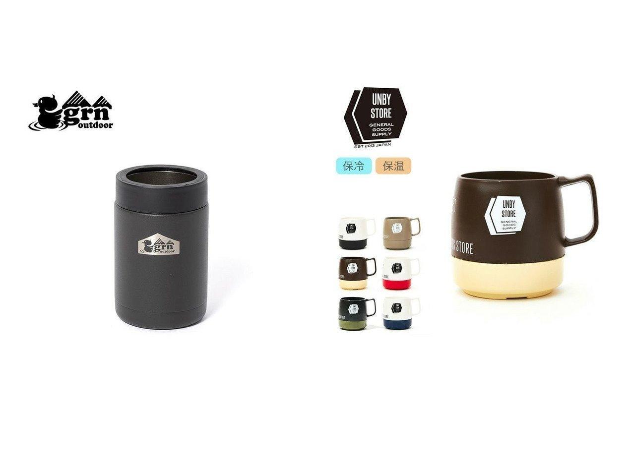 【grn outdoor/ジーアールエヌ アウトドア】のビア缶クーラー&【UNBY originals/アンバイ オリジナル】のオリジナルダイネックスマグ おすすめ!人気キャンプ・アウトドア用品の通販 おすすめで人気の流行・トレンド、ファッションの通販商品 インテリア・家具・メンズファッション・キッズファッション・レディースファッション・服の通販 founy(ファニー) https://founy.com/ アウトドア ホーム・キャンプ・アウトドア Home,Garden,Outdoor,Camping Gear キャンプ用品・アウトドア  Camping Gear & Outdoor Supplies その他 雑貨 小物 Camping Tools  ID:crp329100000062769