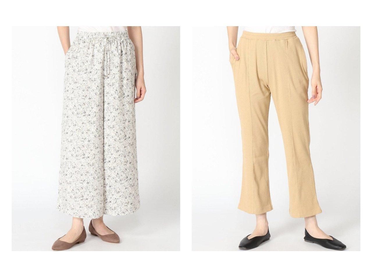 【GLOBAL WORK/グローバルワーク】の【MATINEE LINE】リラックスワイドパンツ+D&ピンタックカットパンツ おすすめ!人気、トレンド・レディースファッションの通販  おすすめで人気の流行・トレンド、ファッションの通販商品 インテリア・家具・メンズファッション・キッズファッション・レディースファッション・服の通販 founy(ファニー) https://founy.com/ ファッション Fashion レディースファッション WOMEN パンツ Pants NEW・新作・新着・新入荷 New Arrivals おすすめ Recommend エアリー サンダル ジーンズ セットアップ フレア ワイド 夏 Summer ワーク  ID:crp329100000062874