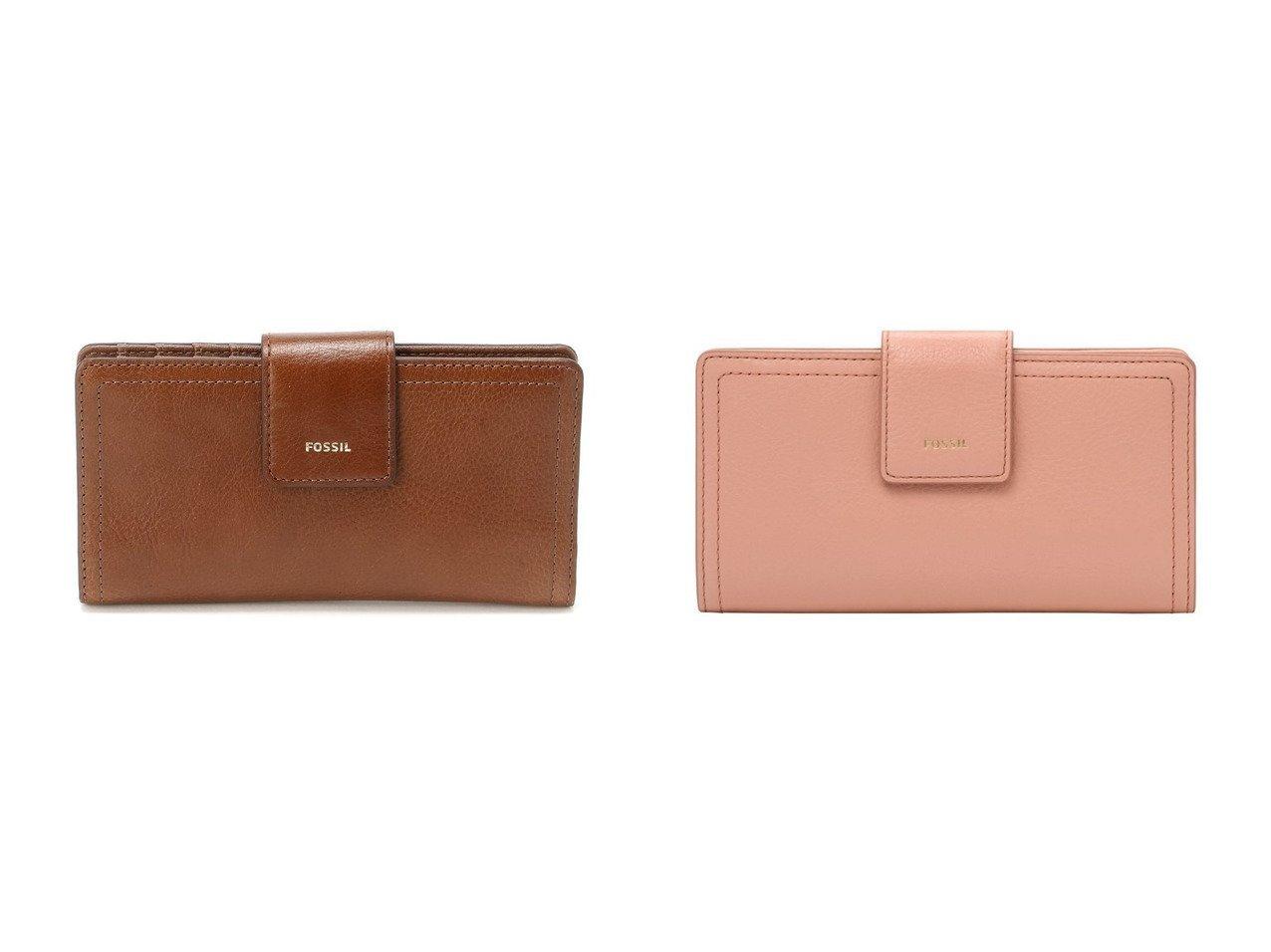 【FOSSIL/フォッシル】のLOGAN RFID TAB CLUTCH SL7830 おすすめ!人気、トレンド・レディースファッションの通販  おすすめで人気の流行・トレンド、ファッションの通販商品 インテリア・家具・メンズファッション・キッズファッション・レディースファッション・服の通販 founy(ファニー) https://founy.com/ ファッション Fashion レディースファッション WOMEN バッグ Bag 財布 Wallets 財布 |ID:crp329100000062894