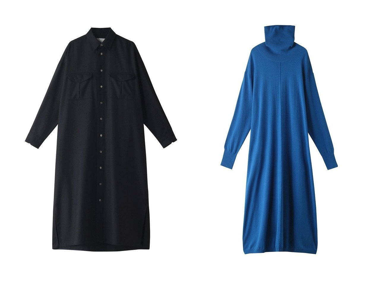 【TICCA/ティッカ】のWポケットロングシャツ&【Shinzone/シンゾーン】のハイネックドレス 【ワンピース・ドレス】おすすめ!人気、トレンド・レディースファッションの通販  おすすめで人気の流行・トレンド、ファッションの通販商品 インテリア・家具・メンズファッション・キッズファッション・レディースファッション・服の通販 founy(ファニー) https://founy.com/ ファッション Fashion レディースファッション WOMEN ワンピース Dress チュニック Tunic ドレス Party Dresses 2020年 2020 2020-2021秋冬・A/W AW・Autumn/Winter・FW・Fall-Winter/2020-2021 2021年 2021 2021-2022秋冬・A/W AW・Autumn/Winter・FW・Fall-Winter・2021-2022 A/W・秋冬 AW・Autumn/Winter・FW・Fall-Winter シンプル チュニック フラップ ポケット ロング 羽織 ドレス ハイネック マキシ  ID:crp329100000062969