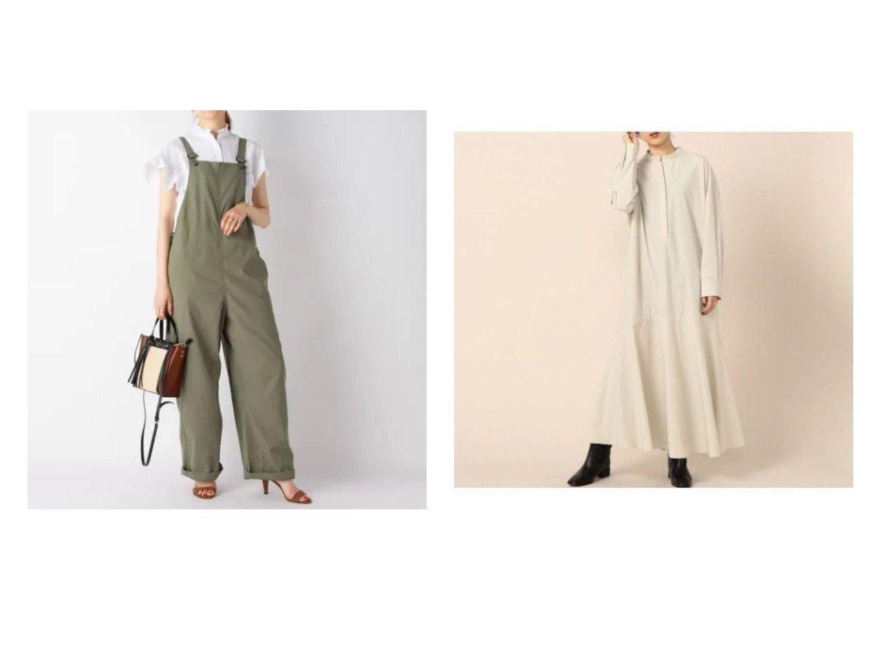 【NOLLEY'S/ノーリーズ】の【WEB限定カラーあり】【ティッカ】サロペット&タイプライターマーメイドワンピース 【ワンピース・ドレス】おすすめ!人気、トレンド・レディースファッションの通販  おすすめで人気の流行・トレンド、ファッションの通販商品 インテリア・家具・メンズファッション・キッズファッション・レディースファッション・服の通販 founy(ファニー) https://founy.com/ ファッション Fashion レディースファッション WOMEN ワンピース Dress オールインワン ワンピース All In One Dress サロペット Salopette シャツワンピース Shirt Dresses エレガント 春 Spring サロペット サンダル ベーシック ワーク A/W・秋冬 AW・Autumn/Winter・FW・Fall-Winter 2021年 2021 S/S・春夏 SS・Spring/Summer 2021-2022秋冬・A/W AW・Autumn/Winter・FW・Fall-Winter・2021-2022 夏 Summer タイプライター マーメイド ヴィンテージ 長袖  ID:crp329100000062971