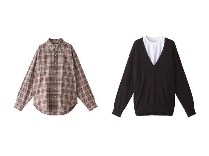 【Shinzone/シンゾーン】のチェックシャツ&ビジーニット 【トップス・カットソー】おすすめ!人気、トレンド・レディースファッションの通販  おすすめ人気トレンドファッション通販アイテム 人気、トレンドファッション・服の通販 founy(ファニー) ファッション Fashion レディースファッション WOMEN トップス・カットソー Tops/Tshirt シャツ/ブラウス Shirts/Blouses ニット Knit Tops プルオーバー Pullover 2020年 2020 2020-2021秋冬・A/W AW・Autumn/Winter・FW・Fall-Winter/2020-2021 2021年 2021 2021-2022秋冬・A/W AW・Autumn/Winter・FW・Fall-Winter・2021-2022 A/W・秋冬 AW・Autumn/Winter・FW・Fall-Winter スリーブ チェック デニム トレンド ボトム ロング おすすめ Recommend カットソー シンプル ベーシック |ID:crp329100000063014