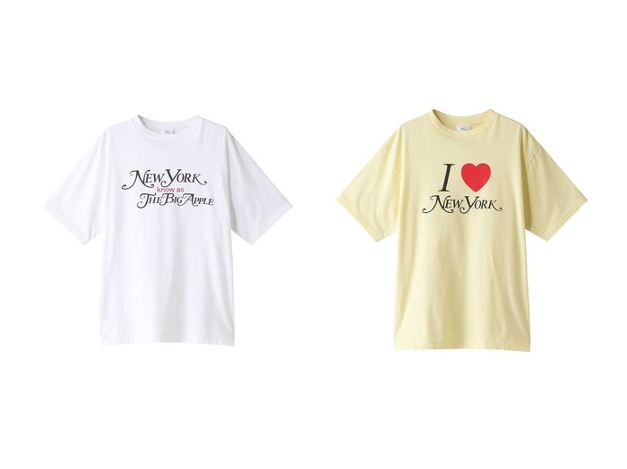 【Shinzone/シンゾーン】のNY know as BIG APPLE Tシャツ&I LOVE NEW YORK Tシャツ 【トップス・カットソー】おすすめ!人気、トレンド・レディースファッションの通販  おすすめ人気トレンドファッション通販アイテム 人気、トレンドファッション・服の通販 founy(ファニー) ファッション Fashion レディースファッション WOMEN トップス・カットソー Tops/Tshirt シャツ/ブラウス Shirts/Blouses ロング / Tシャツ T-Shirts カットソー Cut and Sewn 2020年 2020 2020-2021秋冬・A/W AW・Autumn/Winter・FW・Fall-Winter/2020-2021 2021年 2021 2021-2022秋冬・A/W AW・Autumn/Winter・FW・Fall-Winter・2021-2022 A/W・秋冬 AW・Autumn/Winter・FW・Fall-Winter おすすめ Recommend ショート スリーブ デニム トレンド プリーツ 今季 フレア フロント |ID:crp329100000063019