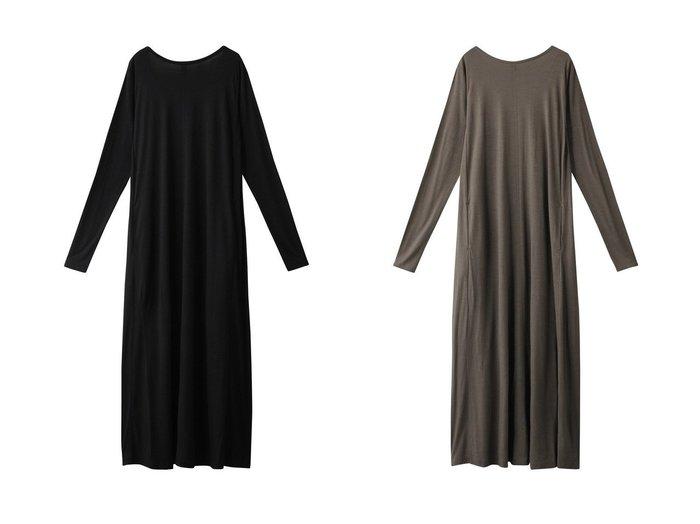 【knit bar/ニットバー】のWBメリノウールAラインバックVマキシドレス 【トップス・カットソー】おすすめ!人気、トレンド・レディースファッションの通販  おすすめ人気トレンドファッション通販アイテム 人気、トレンドファッション・服の通販 founy(ファニー) ファッション Fashion レディースファッション WOMEN ワンピース Dress ドレス Party Dresses チュニック Tunic 2020年 2020 2020-2021秋冬・A/W AW・Autumn/Winter・FW・Fall-Winter/2020-2021 2021年 2021 2021-2022秋冬・A/W AW・Autumn/Winter・FW・Fall-Winter・2021-2022 A/W・秋冬 AW・Autumn/Winter・FW・Fall-Winter シューズ スニーカー チュニック ドレス フラット マキシ |ID:crp329100000063024