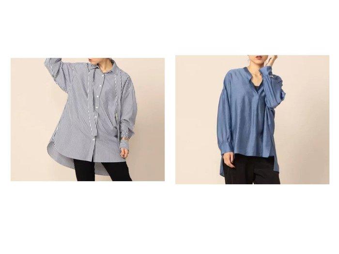 【NOLLEY'S/ノーリーズ】のMY STANDARD ビッグシャツ&シャイニーローンシアーシャツ 【トップス・カットソー】おすすめ!人気、トレンド・レディースファッションの通販  おすすめ人気トレンドファッション通販アイテム インテリア・キッズ・メンズ・レディースファッション・服の通販 founy(ファニー) https://founy.com/ ファッション Fashion レディースファッション WOMEN トップス・カットソー Tops/Tshirt シャツ/ブラウス Shirts/Blouses 2021年 2021 2021-2022秋冬・A/W AW・Autumn/Winter・FW・Fall-Winter・2021-2022 A/W・秋冬 AW・Autumn/Winter・FW・Fall-Winter ビッグ 人気 定番 Standard おすすめ Recommend ギャザー 夏 Summer 長袖 |ID:crp329100000063030