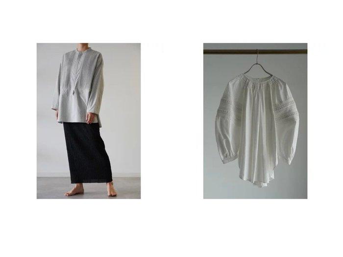 【Pheeta/フィータ】のBlouse(Gray)&Shirt(Trinity) 【トップス・カットソー】おすすめ!人気、トレンド・レディースファッションの通販  おすすめ人気トレンドファッション通販アイテム インテリア・キッズ・メンズ・レディースファッション・服の通販 founy(ファニー) https://founy.com/ ファッション Fashion レディースファッション WOMEN トップス・カットソー Tops/Tshirt シャツ/ブラウス Shirts/Blouses ドレス フォーマル メンズ 長袖 |ID:crp329100000063031