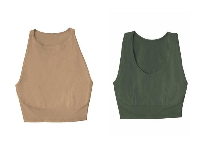 【Women's Health/ウィメンズヘルス】のhi-neck croptop【hazelle】&tank croptop【hazelle】 おすすめ!人気、トレンド・レディースファッションの通販  おすすめ人気トレンドファッション通販アイテム インテリア・キッズ・メンズ・レディースファッション・服の通販 founy(ファニー) https://founy.com/ ファッション Fashion レディースファッション WOMEN 下着・ランジェリー Underwear その他インナー・ランジェリー Other lingerie オーガニック ブラジャー ランジェリー ワイヤー 再入荷 Restock/Back in Stock/Re Arrival |ID:crp329100000063092