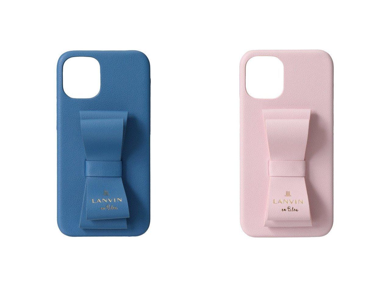 【LANVIN en Bleu/ランバン オン ブルー】のSLIMWRAPCASEiphone12mini おすすめ!人気、トレンド・レディースファッションの通販  おすすめで人気の流行・トレンド、ファッションの通販商品 インテリア・家具・メンズファッション・キッズファッション・レディースファッション・服の通販 founy(ファニー) https://founy.com/ ファッション Fashion レディースファッション WOMEN 2020年 2020 2020-2021秋冬・A/W AW・Autumn/Winter・FW・Fall-Winter/2020-2021 2021年 2021 2021-2022秋冬・A/W AW・Autumn/Winter・FW・Fall-Winter・2021-2022 A/W・秋冬 AW・Autumn/Winter・FW・Fall-Winter おすすめ Recommend スタンド フェイクレザー フェミニン リボン  ID:crp329100000063096