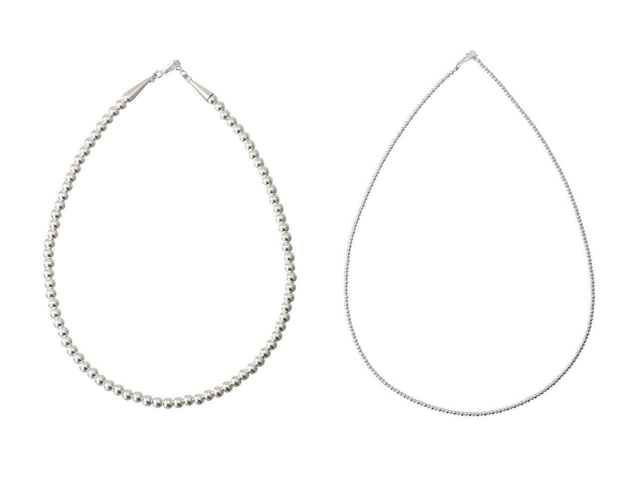 【heliopole/エリオポール】の【HARPO】5mm silver beads ネックレス&【HARPO】3mm silver beads ネックレス おすすめ!人気、トレンド・レディースファッションの通販  おすすめで人気の流行・トレンド、ファッションの通販商品 インテリア・家具・メンズファッション・キッズファッション・レディースファッション・服の通販 founy(ファニー) https://founy.com/ ファッション Fashion レディースファッション WOMEN ジュエリー Jewelry ネックレス Necklaces 2020年 2020 2020-2021秋冬・A/W AW・Autumn/Winter・FW・Fall-Winter/2020-2021 2021年 2021 2021-2022秋冬・A/W AW・Autumn/Winter・FW・Fall-Winter・2021-2022 A/W・秋冬 AW・Autumn/Winter・FW・Fall-Winter ジュエリー ネックレス  ID:crp329100000063097