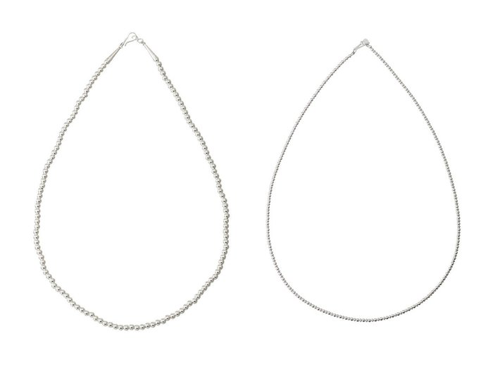 【heliopole/エリオポール】の【HARPO】4mm silver beads ネックレス&【HARPO】3mm silver beads ネックレス おすすめ!人気、トレンド・レディースファッションの通販  おすすめ人気トレンドファッション通販アイテム 人気、トレンドファッション・服の通販 founy(ファニー) ファッション Fashion レディースファッション WOMEN ジュエリー Jewelry ネックレス Necklaces 2020年 2020 2020-2021秋冬・A/W AW・Autumn/Winter・FW・Fall-Winter/2020-2021 2021年 2021 2021-2022秋冬・A/W AW・Autumn/Winter・FW・Fall-Winter・2021-2022 A/W・秋冬 AW・Autumn/Winter・FW・Fall-Winter ジュエリー ネックレス |ID:crp329100000063098
