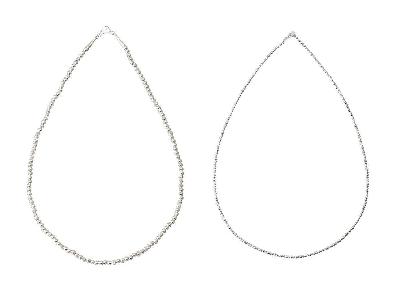 【heliopole/エリオポール】の【HARPO】4mm silver beads ネックレス&【HARPO】3mm silver beads ネックレス おすすめ!人気、トレンド・レディースファッションの通販  おすすめで人気の流行・トレンド、ファッションの通販商品 インテリア・家具・メンズファッション・キッズファッション・レディースファッション・服の通販 founy(ファニー) https://founy.com/ ファッション Fashion レディースファッション WOMEN ジュエリー Jewelry ネックレス Necklaces 2020年 2020 2020-2021秋冬・A/W AW・Autumn/Winter・FW・Fall-Winter/2020-2021 2021年 2021 2021-2022秋冬・A/W AW・Autumn/Winter・FW・Fall-Winter・2021-2022 A/W・秋冬 AW・Autumn/Winter・FW・Fall-Winter ジュエリー ネックレス  ID:crp329100000063098