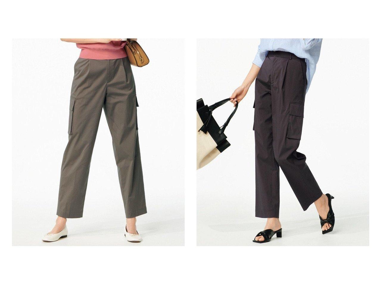 【NIJYUSANKU/23区】の【中村アンさん着用】ストレッチカーゴ パンツ おすすめ!人気、トレンド・レディースファッションの通販  おすすめで人気の流行・トレンド、ファッションの通販商品 インテリア・家具・メンズファッション・キッズファッション・レディースファッション・服の通販 founy(ファニー) https://founy.com/ ファッションモデル・俳優・女優 Models 女性 Women 中村アン Nakamura Anne ファッション Fashion レディースファッション WOMEN パンツ Pants 2021年 2021 2021春夏・S/S SS/Spring/Summer/2021 S/S・春夏 SS・Spring/Summer カーゴパンツ ジーンズ ストレッチ ポケット ラグジュアリー 夏 Summer 軽量 |ID:crp329100000063107