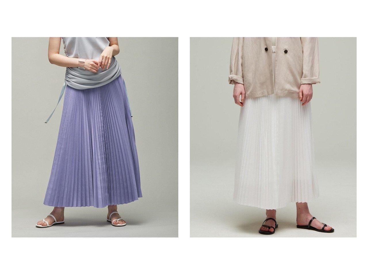 【iCB/アイシービー】の【マガジン掲載】Waterproof プリーツ スカート ファッション雑誌・Webマガジン掲載、おすすめ!人気、トレンド・レディースファッションの通販  おすすめで人気の流行・トレンド、ファッションの通販商品 インテリア・家具・メンズファッション・キッズファッション・レディースファッション・服の通販 founy(ファニー) https://founy.com/ ファッション Fashion レディースファッション WOMEN スカート Skirt プリーツスカート Pleated Skirts ギャザー シンプル 雑誌 ブロード プリーツ ベーシック ペチコート ワッシャー 2021年 2021 S/S・春夏 SS・Spring/Summer 2021春夏・S/S SS/Spring/Summer/2021 夏 Summer |ID:crp329100000063124