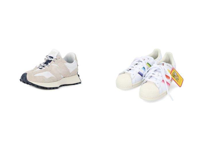 【adidas Originals/アディダス オリジナルス】のスーパースター Superstar アディダスオリジナルス GW2415&【new balance/ニューバランス】のMS327 【シューズ・靴】おすすめ!人気、トレンド・レディースファッションの通販 おすすめ人気トレンドファッション通販アイテム インテリア・キッズ・メンズ・レディースファッション・服の通販 founy(ファニー) https://founy.com/ ファッション Fashion レディースファッション WOMEN グラフィック シューズ スニーカー スリッポン 今季 スエード ベーシック  ID:crp329100000063319