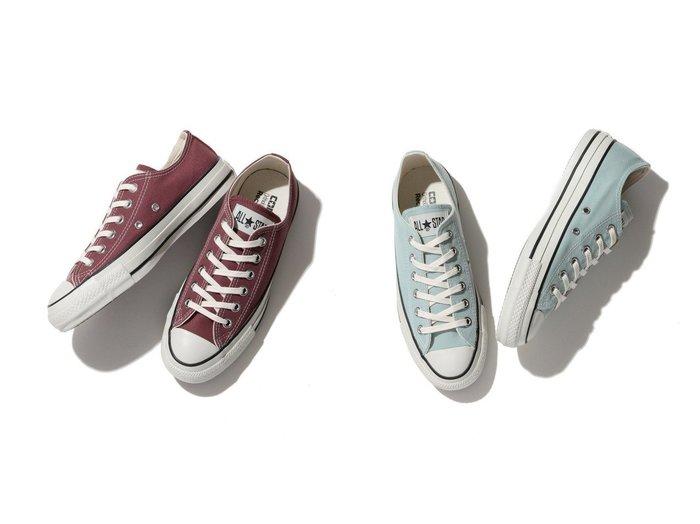 【ROPE'PICNIC PASSAGE/ロペピクニック パサージュ】の【CONVERSE】コンバース CANVAS ALL STAR PET CANVAS OX 【シューズ・靴】おすすめ!人気、トレンド・レディースファッションの通販 おすすめ人気トレンドファッション通販アイテム インテリア・キッズ・メンズ・レディースファッション・服の通販 founy(ファニー) https://founy.com/ ファッション Fashion レディースファッション WOMEN シューズ スニーカー スリッポン ローズ 人気 夏 Summer  ID:crp329100000063754