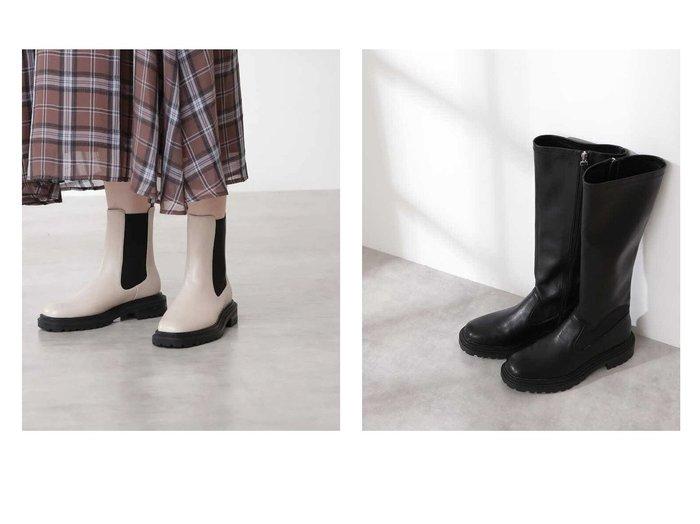 【N.Natural Beauty basic/エヌ ナチュラルビューティーベーシック】のサイドゴアミドルブーツ&ストレッチロングブーツ 【シューズ・靴】おすすめ!人気、トレンド・レディースファッションの通販 おすすめ人気トレンドファッション通販アイテム インテリア・キッズ・メンズ・レディースファッション・服の通販 founy(ファニー) https://founy.com/ ファッション Fashion レディースファッション WOMEN おすすめ Recommend フェミニン ベーシック ミドル ロング |ID:crp329100000063757