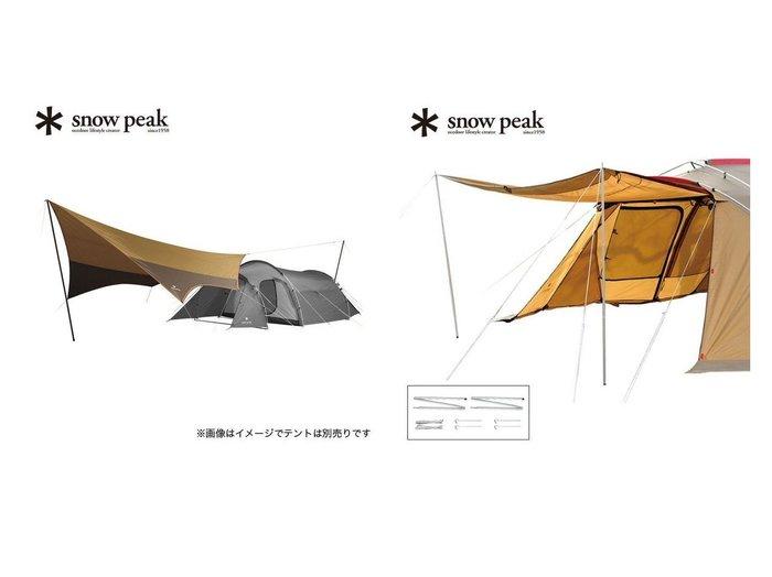 【Snow Peak/スノーピーク】のアメニティタープ ヘキサLセット&スノーピーク アップライトポールセット おすすめ!人気キャンプ・アウトドア用品の通販 おすすめ人気トレンドファッション通販アイテム 人気、トレンドファッション・服の通販 founy(ファニー) コーティング フレーム ホーム・キャンプ・アウトドア Home,Garden,Outdoor,Camping Gear キャンプ用品・アウトドア  Camping Gear & Outdoor Supplies テント タープ Tents, Tarp ホーム・キャンプ・アウトドア Home,Garden,Outdoor,Camping Gear キャンプ用品・アウトドア  Camping Gear & Outdoor Supplies その他 雑貨 小物 Camping Tools |ID:crp329100000063806