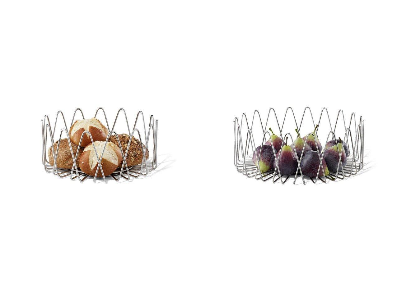 【ZACK/ツァック】のビヴィオ フルーツバスケット Lサイズ&ビヴィオ ブレッドバスケット Mサイズ 【FURNITURE】おすすめ!人気、インテリア雑貨・家具の通販 おすすめで人気の流行・トレンド、ファッションの通販商品 インテリア・家具・メンズファッション・キッズファッション・レディースファッション・服の通販 founy(ファニー) https://founy.com/ テーブル 送料無料 Free Shipping バスケット  ID:crp329100000063895