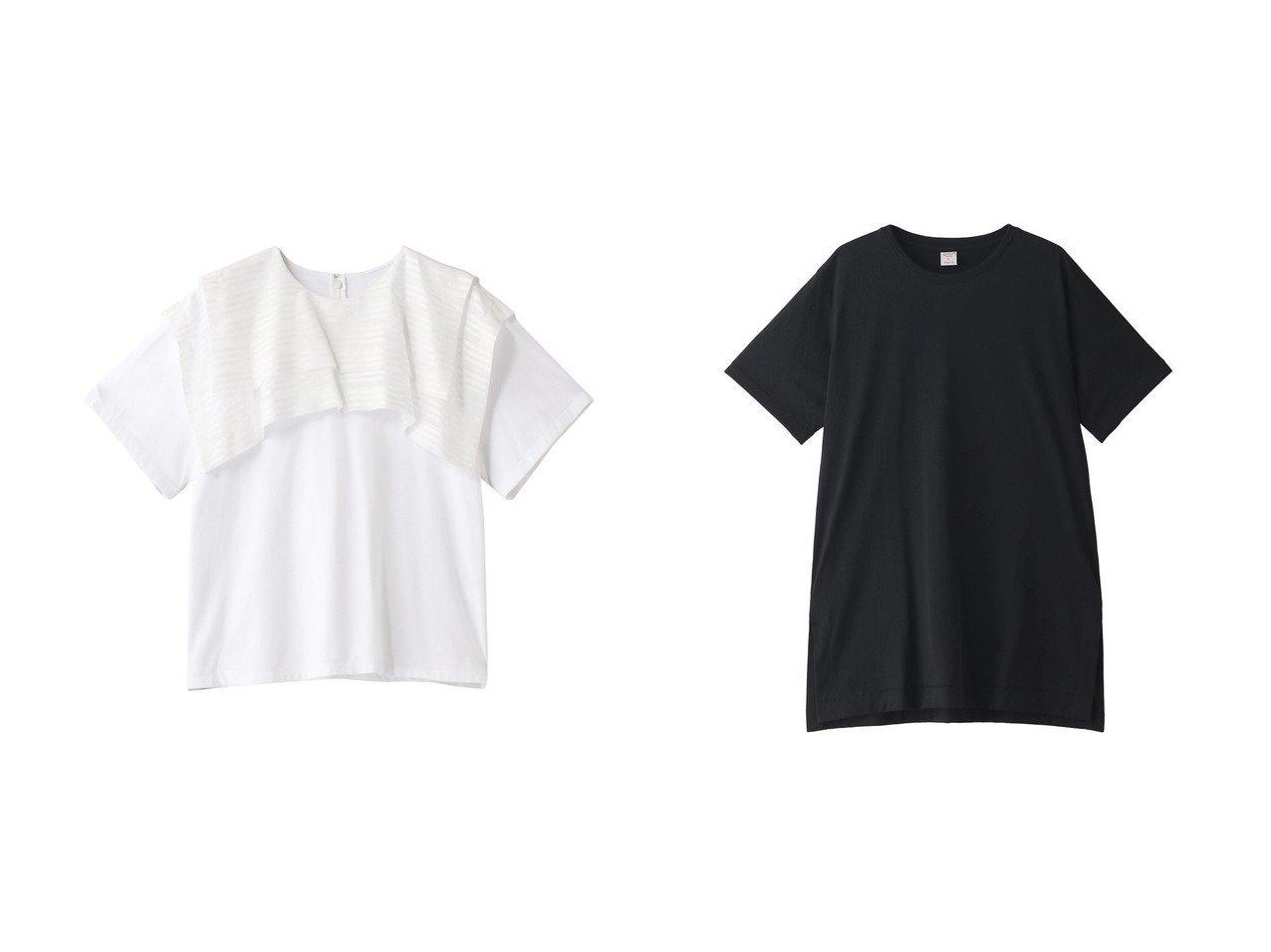 【HOUSE OF LOTUS/ハウス オブ ロータス】の【gicipi】Tシャツ&【LE CIEL BLEU/ルシェル ブルー】のバイカラーTee 【トップス・カットソー】おすすめ!人気、トレンド・レディースファッションの通販 おすすめで人気の流行・トレンド、ファッションの通販商品 インテリア・家具・メンズファッション・キッズファッション・レディースファッション・服の通販 founy(ファニー) https://founy.com/ ファッション Fashion レディースファッション WOMEN トップス・カットソー Tops/Tshirt シャツ/ブラウス Shirts/Blouses ロング / Tシャツ T-Shirts カットソー Cut and Sewn 2020年 2020 2020-2021秋冬・A/W AW・Autumn/Winter・FW・Fall-Winter/2020-2021 2021年 2021 2021-2022秋冬・A/W AW・Autumn/Winter・FW・Fall-Winter・2021-2022 A/W・秋冬 AW・Autumn/Winter・FW・Fall-Winter カットソー ショート シンプル スリーブ 半袖 |ID:crp329100000063966