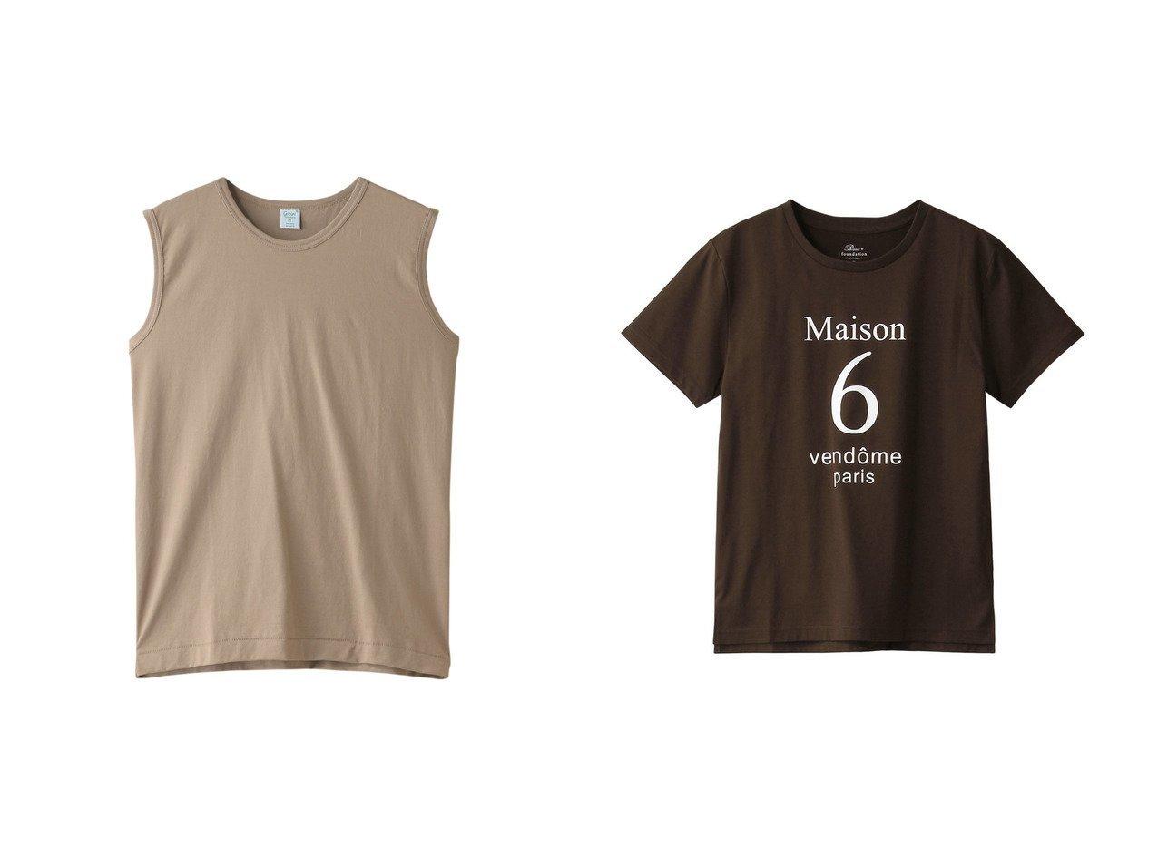 【HOUSE OF LOTUS/ハウス オブ ロータス】の【gicipi】ノースリーブTシャツ&【Rawtus/ロゥタス】のロゴプリントTシャツ 【トップス・カットソー】おすすめ!人気、トレンド・レディースファッションの通販 おすすめで人気の流行・トレンド、ファッションの通販商品 インテリア・家具・メンズファッション・キッズファッション・レディースファッション・服の通販 founy(ファニー) https://founy.com/ ファッション Fashion レディースファッション WOMEN トップス・カットソー Tops/Tshirt キャミソール / ノースリーブ No Sleeves シャツ/ブラウス Shirts/Blouses ロング / Tシャツ T-Shirts カットソー Cut and Sewn 2020年 2020 2020-2021秋冬・A/W AW・Autumn/Winter・FW・Fall-Winter/2020-2021 2021年 2021 2021-2022秋冬・A/W AW・Autumn/Winter・FW・Fall-Winter・2021-2022 A/W・秋冬 AW・Autumn/Winter・FW・Fall-Winter インナー キャミソール シンプル タンク ノースリーブ なめらか グラフィック ショート スリーブ フィット プリント |ID:crp329100000063967