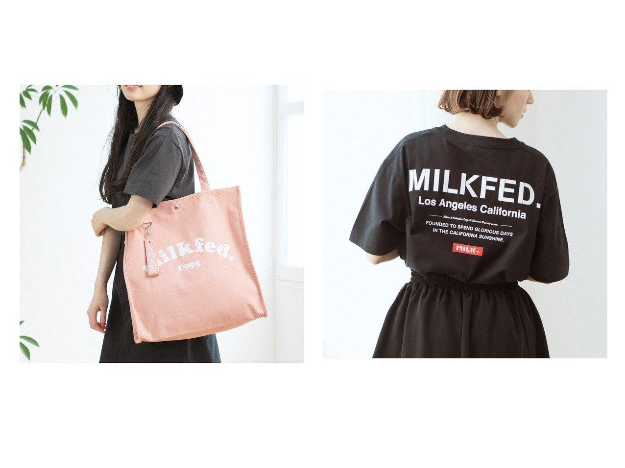 【MILKFED./ミルクフェド】のSS T EMBROID BAR STENCIL&PIPING TOTE COOPER L おすすめ!人気、トレンド・レディースファッションの通販 おすすめで人気の流行・トレンド、ファッションの通販商品 インテリア・家具・メンズファッション・キッズファッション・レディースファッション・服の通販 founy(ファニー) https://founy.com/ ファッション Fashion レディースファッション WOMEN トップス・カットソー Tops/Tshirt シャツ/ブラウス Shirts/Blouses ロング / Tシャツ T-Shirts カットソー Cut and Sewn バッグ Bag インナー 春 Spring カットソー ガーリー キャミワンピース ジャケット デニム トレンド 定番 Standard 人気 フェミニン プリント 羽織 S/S・春夏 SS・Spring/Summer おすすめ Recommend お家時間・ステイホーム Home Time/Stay Home 夏 Summer キーホルダー スクエア チャーム トートバック ポケット  ID:crp329100000064054