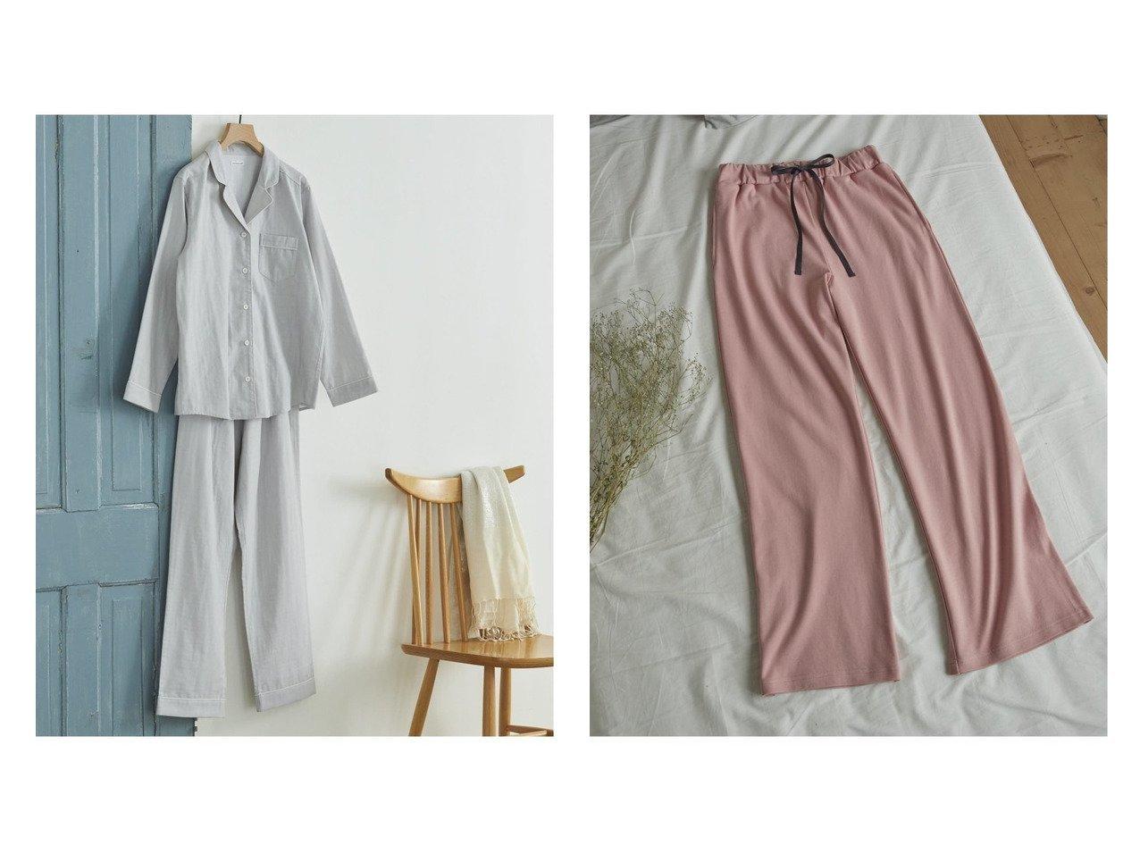 【une nana cool/ウンナナクール】のダブルガーゼ無地 パジャマ&Puchitto Ribbon ボトム おすすめ!人気、トレンド・レディースファッションの通販 おすすめで人気の流行・トレンド、ファッションの通販商品 インテリア・家具・メンズファッション・キッズファッション・レディースファッション・服の通販 founy(ファニー) https://founy.com/ ファッション Fashion レディースファッション WOMEN おすすめ Recommend なめらか インナー シンプル パジャマ ボトム ポケット リボン ルーズ ダブル 無地 |ID:crp329100000064056
