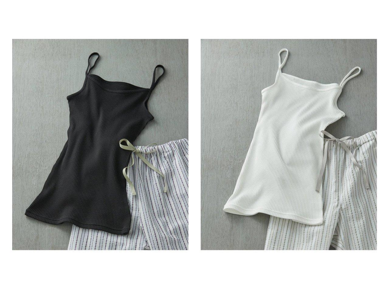【une nana cool/ウンナナクール】のリブ編みコットン キャミソール おすすめ!人気、トレンド・レディースファッションの通販 おすすめで人気の流行・トレンド、ファッションの通販商品 インテリア・家具・メンズファッション・キッズファッション・レディースファッション・服の通販 founy(ファニー) https://founy.com/ ファッション Fashion レディースファッション WOMEN トップス・カットソー Tops/Tshirt キャミソール / ノースリーブ No Sleeves インナー キャミソール シンプル トレンド ラップ |ID:crp329100000064057