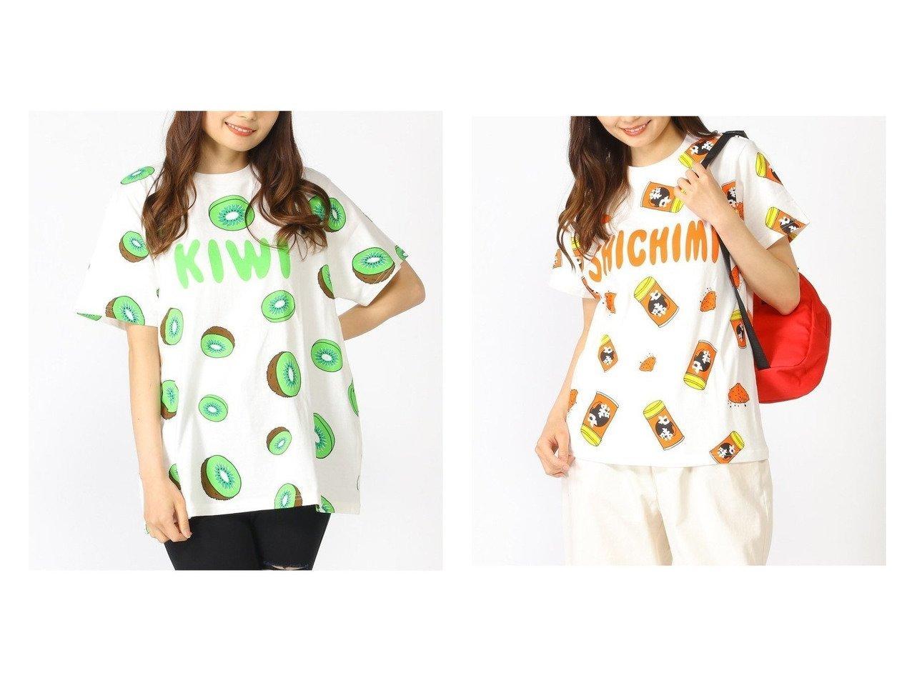【PUNYUS/プニュズ】のフード総柄Tシャツ&フード総柄Tシャツ おすすめ!人気、トレンド・レディースファッションの通販 おすすめで人気の流行・トレンド、ファッションの通販商品 インテリア・家具・メンズファッション・キッズファッション・レディースファッション・服の通販 founy(ファニー) https://founy.com/ ファッション Fashion レディースファッション WOMEN トップス・カットソー Tops/Tshirt シャツ/ブラウス Shirts/Blouses ロング / Tシャツ T-Shirts カットソー Cut and Sewn カットソー プリント |ID:crp329100000064061