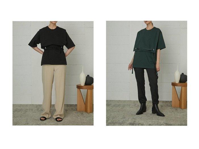 【RIM.ARK/リムアーク】のTシャツ 【トップス・カットソー】おすすめ!人気、トレンド・レディースファッションの通販 おすすめ人気トレンドファッション通販アイテム インテリア・キッズ・メンズ・レディースファッション・服の通販 founy(ファニー) https://founy.com/ ファッション Fashion レディースファッション WOMEN トップス・カットソー Tops/Tshirt シャツ/ブラウス Shirts/Blouses ロング / Tシャツ T-Shirts カットソー Cut and Sewn 2020年 2020 2020-2021秋冬・A/W AW・Autumn/Winter・FW・Fall-Winter/2020-2021 2021年 2021 2021-2022秋冬・A/W AW・Autumn/Winter・FW・Fall-Winter・2021-2022 A/W・秋冬 AW・Autumn/Winter・FW・Fall-Winter ショート スリーブ バランス ビッグ フラップ ブラウジング リボン |ID:crp329100000064770