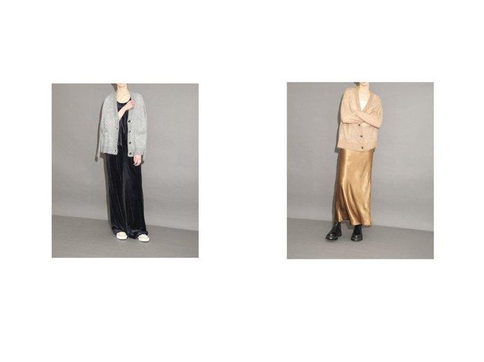 【SACRA/サクラ】のモヘアカーディガン/EXTRA FINE MOHAIR 【トップス・カットソー】おすすめ!人気、トレンド・レディースファッションの通販 おすすめ人気トレンドファッション通販アイテム インテリア・キッズ・メンズ・レディースファッション・服の通販 founy(ファニー) https://founy.com/ ファッション Fashion レディースファッション WOMEN トップス・カットソー Tops/Tshirt カーディガン Cardigans Vネック V-Neck イタリア エアリー カーディガン モヘア モヘヤ リラックス ワイド  ID:crp329100000064792