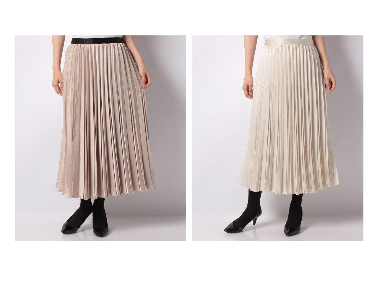 【ANAYI/アナイ】の【2021 Eternal Line】サテンプリーツスカート 【スカート】おすすめ!人気、トレンド・レディースファッションの通販   おすすめで人気の流行・トレンド、ファッションの通販商品 インテリア・家具・メンズファッション・キッズファッション・レディースファッション・服の通販 founy(ファニー) https://founy.com/ ファッション Fashion レディースファッション WOMEN スカート Skirt プリーツスカート Pleated Skirts エレガント サテン ダウン プリーツ ロング  ID:crp329100000064816