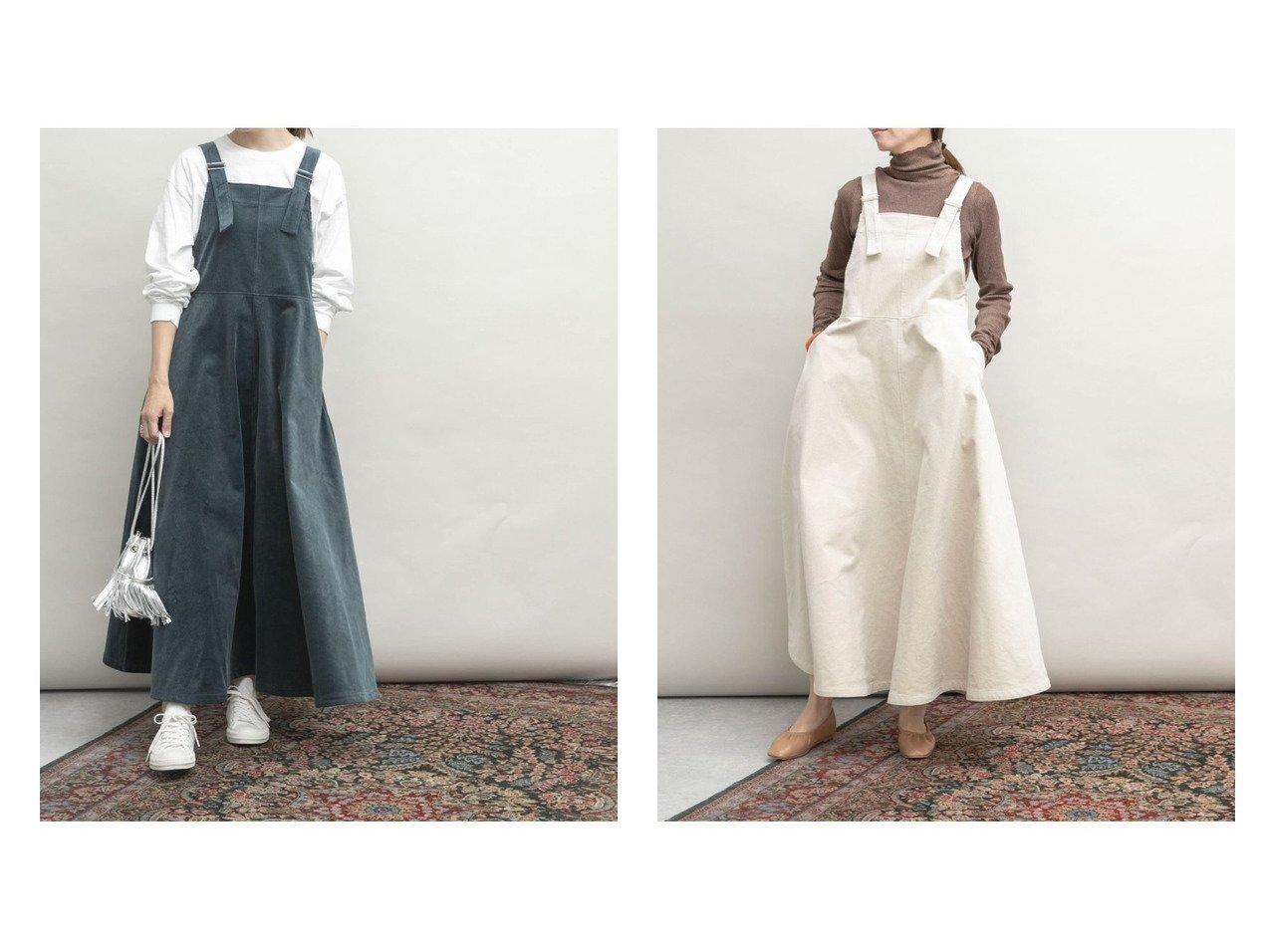 【URBAN RESEARCH/アーバンリサーチ】の【1サイズ/低身長向け】UR Lab. 裾ボリュームジャンパースカート 【スカート】おすすめ!人気、トレンド・レディースファッションの通販   おすすめで人気の流行・トレンド、ファッションの通販商品 インテリア・家具・メンズファッション・キッズファッション・レディースファッション・服の通販 founy(ファニー) https://founy.com/ ファッション Fashion レディースファッション WOMEN スカート Skirt NEW・新作・新着・新入荷 New Arrivals  ID:crp329100000064819