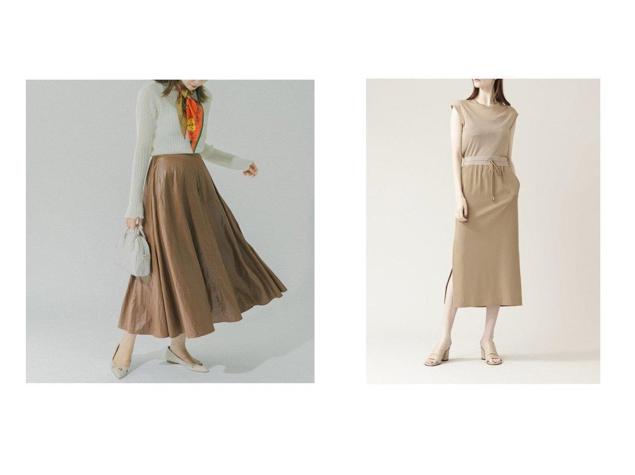 【BOSCH/ボッシュ】の2WAYポプリンセットアップスカート&【URBAN RESEARCH ROSSO/アーバンリサーチ ロッソ】のウォッシャブルフェイクレザーロングスカート 【スカート】おすすめ!人気、トレンド・レディースファッションの通販   おすすめで人気の流行・トレンド、ファッションの通販商品 インテリア・家具・メンズファッション・キッズファッション・レディースファッション・服の通販 founy(ファニー) https://founy.com/ ファッション Fashion レディースファッション WOMEN スカート Skirt ロングスカート Long Skirt セットアップ Setup スカート Skirt エレガント コンパクト スウェット ダウン パーカー フェイクレザー フレア リブニット 人気 今季 NEW・新作・新着・新入荷 New Arrivals コンビ シルキー シルク ストレッチ ドレープ リラックス  ID:crp329100000064820