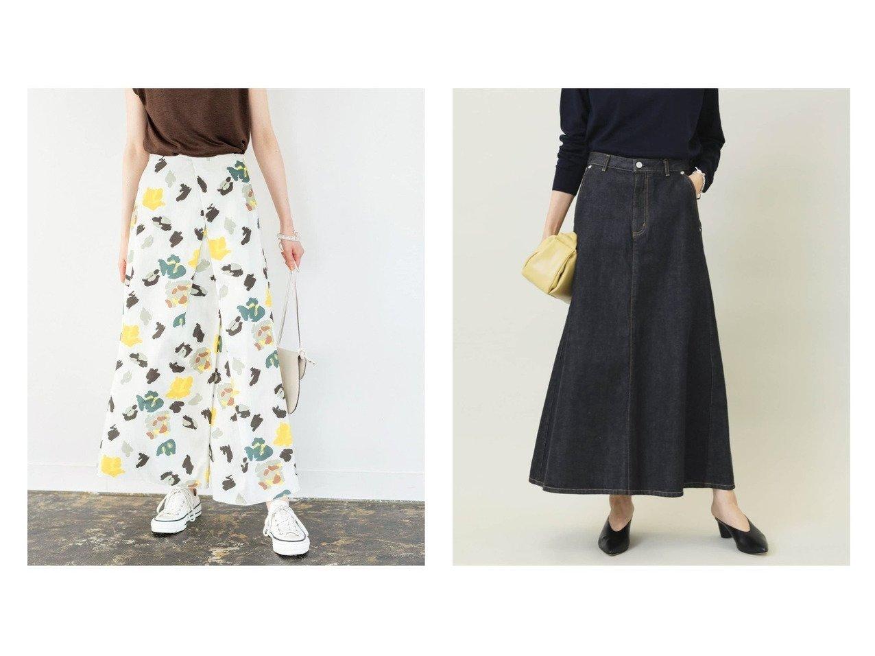 【IENA/イエナ】のシューフラワースリットスカート&エコデニムトラペーズスカート 【スカート】おすすめ!人気、トレンド・レディースファッションの通販   おすすめで人気の流行・トレンド、ファッションの通販商品 インテリア・家具・メンズファッション・キッズファッション・レディースファッション・服の通販 founy(ファニー) https://founy.com/ ファッション Fashion レディースファッション WOMEN スカート Skirt ロングスカート Long Skirt 秋 Autumn/Fall シューズ スリット フラット 無地 ロング 2021年 2021 S/S・春夏 SS・Spring/Summer 2021春夏・S/S SS/Spring/Summer/2021 夏 Summer インディゴ クラシック シンプル デニム 定番 Standard 人気 フレア ベーシック A/W・秋冬 AW・Autumn/Winter・FW・Fall-Winter 2021-2022秋冬・A/W AW・Autumn/Winter・FW・Fall-Winter・2021-2022  ID:crp329100000064824