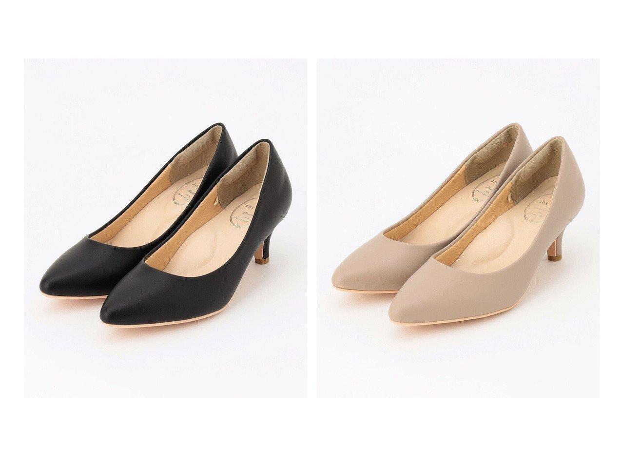 【any SiS/エニィ スィス】の【22.5~24.5cm】レディライク パンプス 【シューズ・靴】おすすめ!人気、トレンド・レディースファッションの通販   おすすめで人気の流行・トレンド、ファッションの通販商品 インテリア・家具・メンズファッション・キッズファッション・レディースファッション・服の通販 founy(ファニー) https://founy.com/ ファッション Fashion レディースファッション WOMEN 送料無料 Free Shipping S/S・春夏 SS・Spring/Summer クッション シューズ 人気 定番 Standard  ID:crp329100000064831