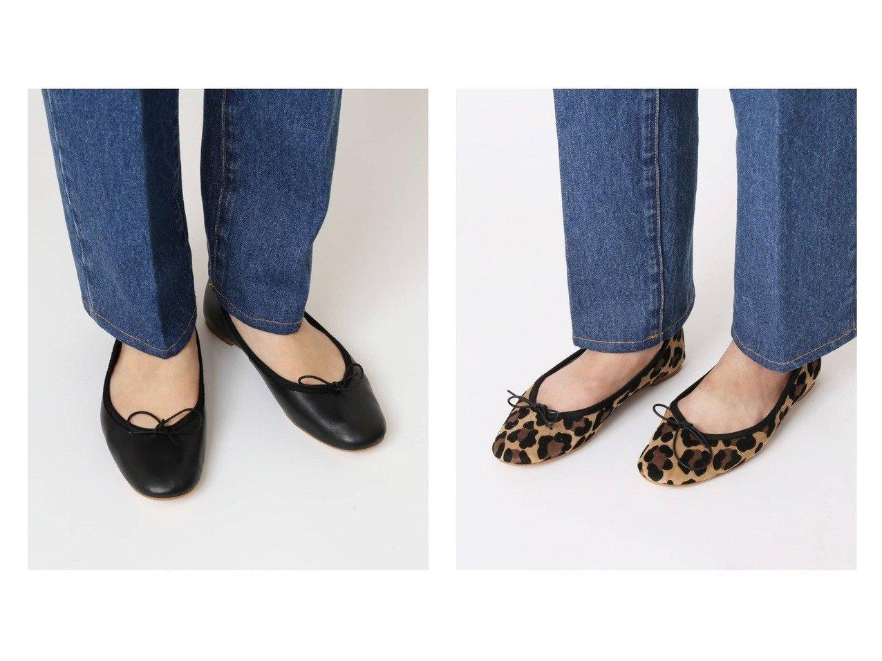 【U by Spick&Span/ユーバイ スピック&スパン】のORIGINAL バレエシューズ 【シューズ・靴】おすすめ!人気、トレンド・レディースファッションの通販   おすすめで人気の流行・トレンド、ファッションの通販商品 インテリア・家具・メンズファッション・キッズファッション・レディースファッション・服の通販 founy(ファニー) https://founy.com/ ファッション Fashion レディースファッション WOMEN 2021年 2021 2021-2022秋冬・A/W AW・Autumn/Winter・FW・Fall-Winter・2021-2022 2021春夏・S/S SS/Spring/Summer/2021 A/W・秋冬 AW・Autumn/Winter・FW・Fall-Winter S/S・春夏 SS・Spring/Summer シューズ デニム バレエ パープル レオパード ロング  ID:crp329100000064835