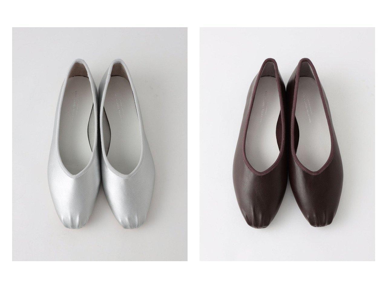 【green label relaxing / UNITED ARROWS/グリーンレーベル リラクシング / ユナイテッドアローズ】のSC スクエア フラット レインシューズ 【シューズ・靴】おすすめ!人気、トレンド・レディースファッションの通販   おすすめで人気の流行・トレンド、ファッションの通販商品 インテリア・家具・メンズファッション・キッズファッション・レディースファッション・服の通販 founy(ファニー) https://founy.com/ ファッション Fashion レディースファッション WOMEN シューズ スクエア バレエ フラット  ID:crp329100000064836