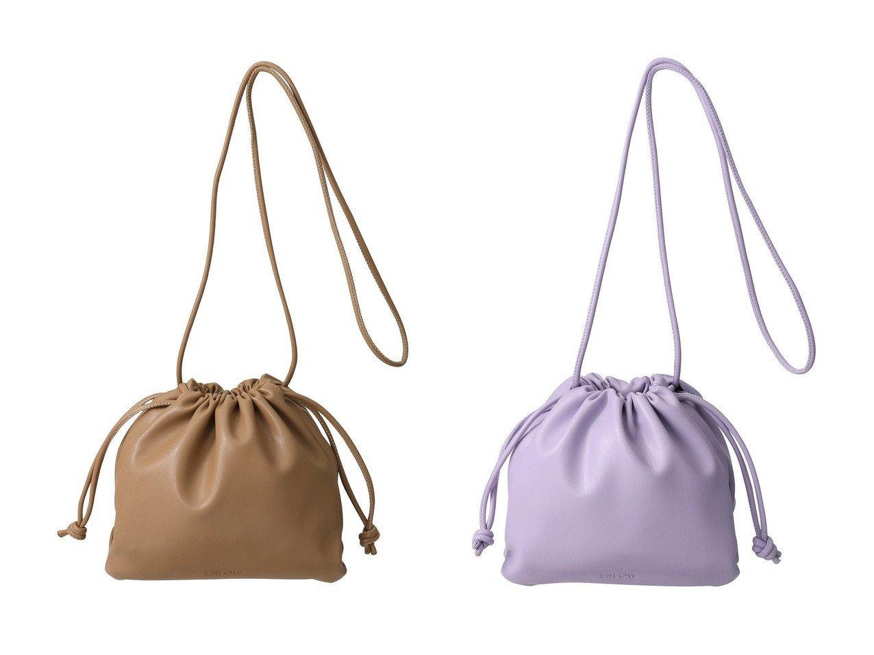 【ESLOW/エスロー】のドローストリングバッグ 【バッグ・鞄】おすすめ!人気、トレンド・レディースファッションの通販   おすすめで人気の流行・トレンド、ファッションの通販商品 インテリア・家具・メンズファッション・キッズファッション・レディースファッション・服の通販 founy(ファニー) https://founy.com/ ファッション Fashion レディースファッション WOMEN バッグ Bag 2020年 2020 2020-2021秋冬・A/W AW・Autumn/Winter・FW・Fall-Winter/2020-2021 2021年 2021 2021-2022秋冬・A/W AW・Autumn/Winter・FW・Fall-Winter・2021-2022 A/W・秋冬 AW・Autumn/Winter・FW・Fall-Winter カラフル コンパクト ショルダー フェイクレザー |ID:crp329100000064842