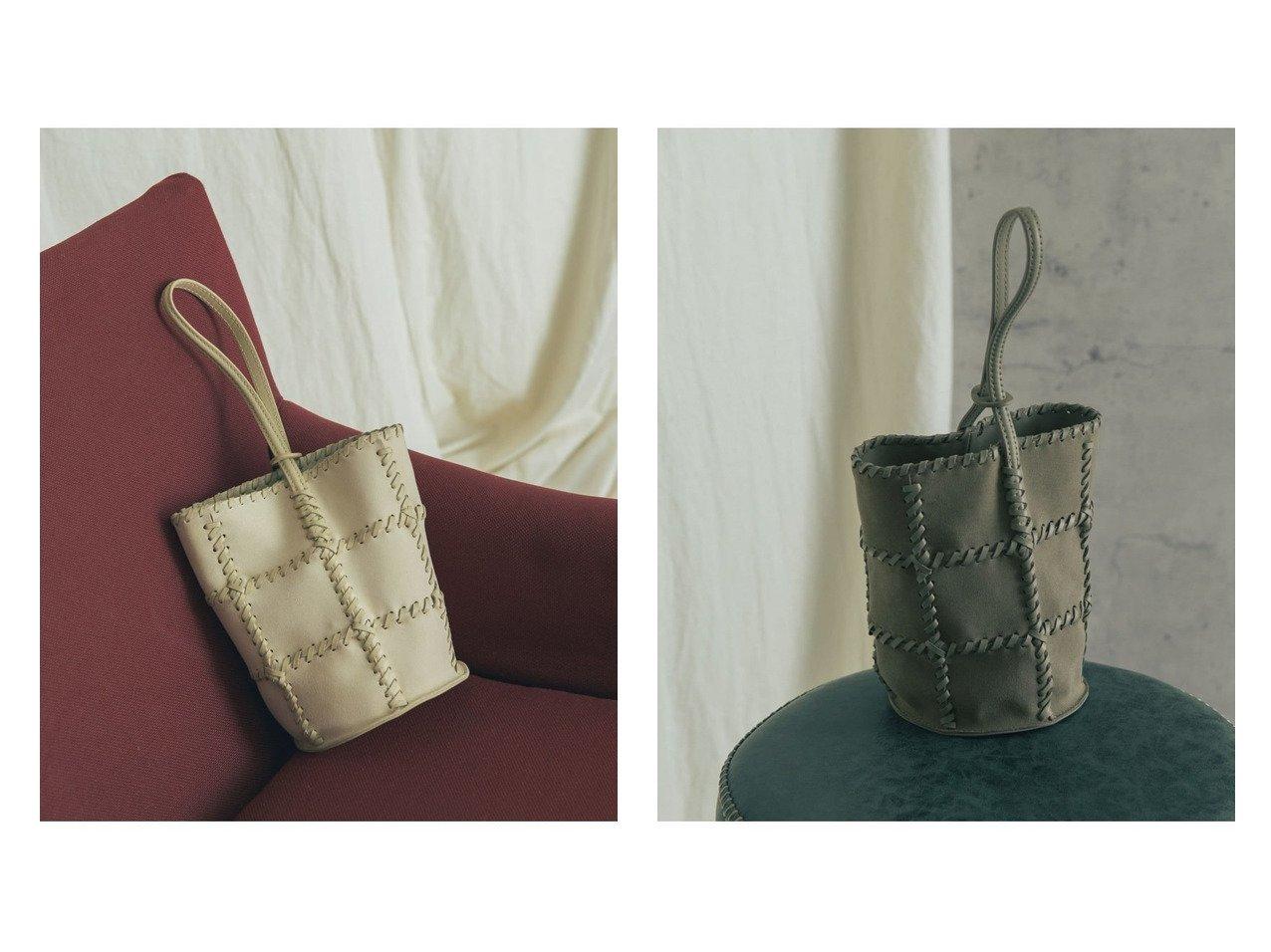 【URBAN RESEARCH ROSSO/アーバンリサーチ ロッソ】のJAMIRAY CORD PATCH BUCKET BAG 【バッグ・鞄】おすすめ!人気、トレンド・レディースファッションの通販   おすすめで人気の流行・トレンド、ファッションの通販商品 インテリア・家具・メンズファッション・キッズファッション・レディースファッション・服の通販 founy(ファニー) https://founy.com/ ファッション Fashion レディースファッション WOMEN バッグ Bag ハンドバッグ モダン |ID:crp329100000064847
