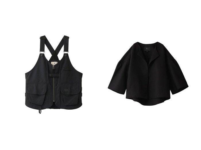 【SNOW PEAK/スノーピーク】の【UNISEX】TAKIBI Vest&【Rawtus/ロゥタス】のランプシェードスリーブトップ 【アウター】おすすめ!人気、トレンド・レディースファッションの通販   おすすめ人気トレンドファッション通販アイテム インテリア・キッズ・メンズ・レディースファッション・服の通販 founy(ファニー) https://founy.com/ ファッション Fashion レディースファッション WOMEN アウター Coat Outerwear トップス・カットソー Tops/Tshirt ベスト/ジレ Gilets/Vests スポーツウェア Sportswear スポーツ トップス Tops コート Coats 2020年 2020 2020-2021秋冬・A/W AW・Autumn/Winter・FW・Fall-Winter/2020-2021 2021年 2021 2021-2022秋冬・A/W AW・Autumn/Winter・FW・Fall-Winter・2021-2022 A/W・秋冬 AW・Autumn/Winter・FW・Fall-Winter UNISEX スポーツ ベスト ギャザー ショート ダブル ポケット |ID:crp329100000064855