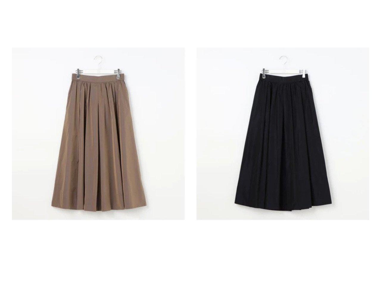 【Ravissant Laviere/ラヴィソンラヴィエール】のシャンブレータフタギャザースカート 【スカート】おすすめ!人気、トレンド・レディースファッションの通販 おすすめで人気の流行・トレンド、ファッションの通販商品 インテリア・家具・メンズファッション・キッズファッション・レディースファッション・服の通販 founy(ファニー) https://founy.com/ ファッション Fashion レディースファッション WOMEN スカート Skirt 2021年 2021 2021-2022秋冬・A/W AW・Autumn/Winter・FW・Fall-Winter・2021-2022 A/W・秋冬 AW・Autumn/Winter・FW・Fall-Winter おすすめ Recommend イタリア ギャザー シャンブレー タフタ 軽量 |ID:crp329100000065070