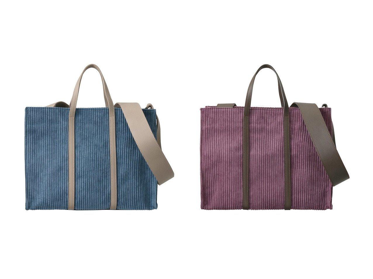 【RIEMPIRE/リエンピーレ】のBRUNA コーデュロイ2wayトートバッグ 【バッグ・鞄】おすすめ!人気、トレンド・レディースファッションの通販 おすすめで人気の流行・トレンド、ファッションの通販商品 インテリア・家具・メンズファッション・キッズファッション・レディースファッション・服の通販 founy(ファニー) https://founy.com/ ファッション Fashion レディースファッション WOMEN バッグ Bag 2020年 2020 2020-2021秋冬・A/W AW・Autumn/Winter・FW・Fall-Winter/2020-2021 2021年 2021 2021-2022秋冬・A/W AW・Autumn/Winter・FW・Fall-Winter・2021-2022 A/W・秋冬 AW・Autumn/Winter・FW・Fall-Winter おすすめ Recommend コーデュロイ ショルダー ハンドバッグ  ID:crp329100000065091