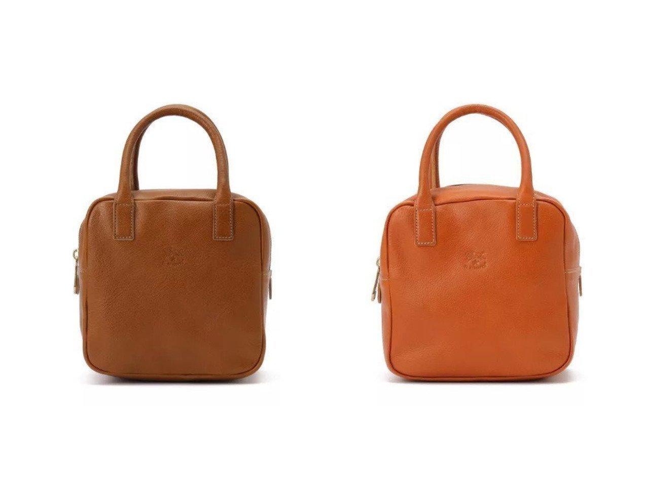 【IL BISONTE/イル ビゾンテ】のハンドバッグ 【バッグ・鞄】おすすめ!人気、トレンド・レディースファッションの通販 おすすめで人気の流行・トレンド、ファッションの通販商品 インテリア・家具・メンズファッション・キッズファッション・レディースファッション・服の通販 founy(ファニー) https://founy.com/ ファッション Fashion レディースファッション WOMEN バッグ Bag ジップ スクエア ハンドバッグ フォルム フロント ワンポイント  ID:crp329100000065097