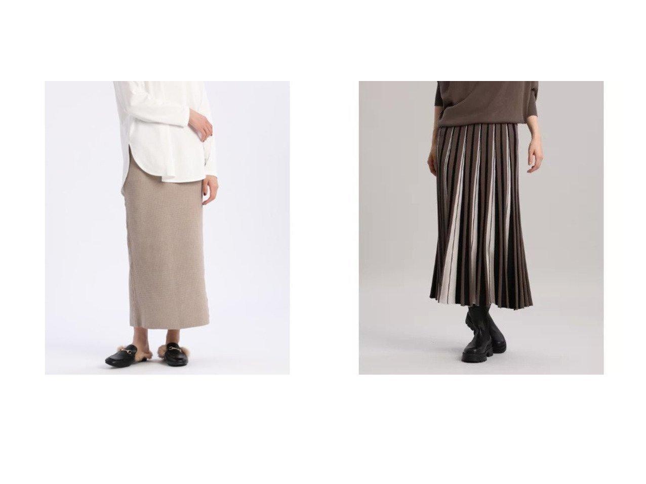【INED/イネド】の《YVON》ワッフルニットスカート&ホールガーメント(R)ニットフレアスカート《Cuoo》 【スカート】おすすめ!人気、トレンド・レディースファッションの通販 おすすめで人気の流行・トレンド、ファッションの通販商品 インテリア・家具・メンズファッション・キッズファッション・レディースファッション・服の通販 founy(ファニー) https://founy.com/ ファッション Fashion レディースファッション WOMEN スカート Skirt Aライン/フレアスカート Flared A-Line Skirts ストレート スリット セットアップ トレンド パーカー リラックス ロング ワッフル アクリル 吸水 ドレープ フレア プリーツ ホールガーメント 冬 Winter 夏 Summer  ID:crp329100000065213