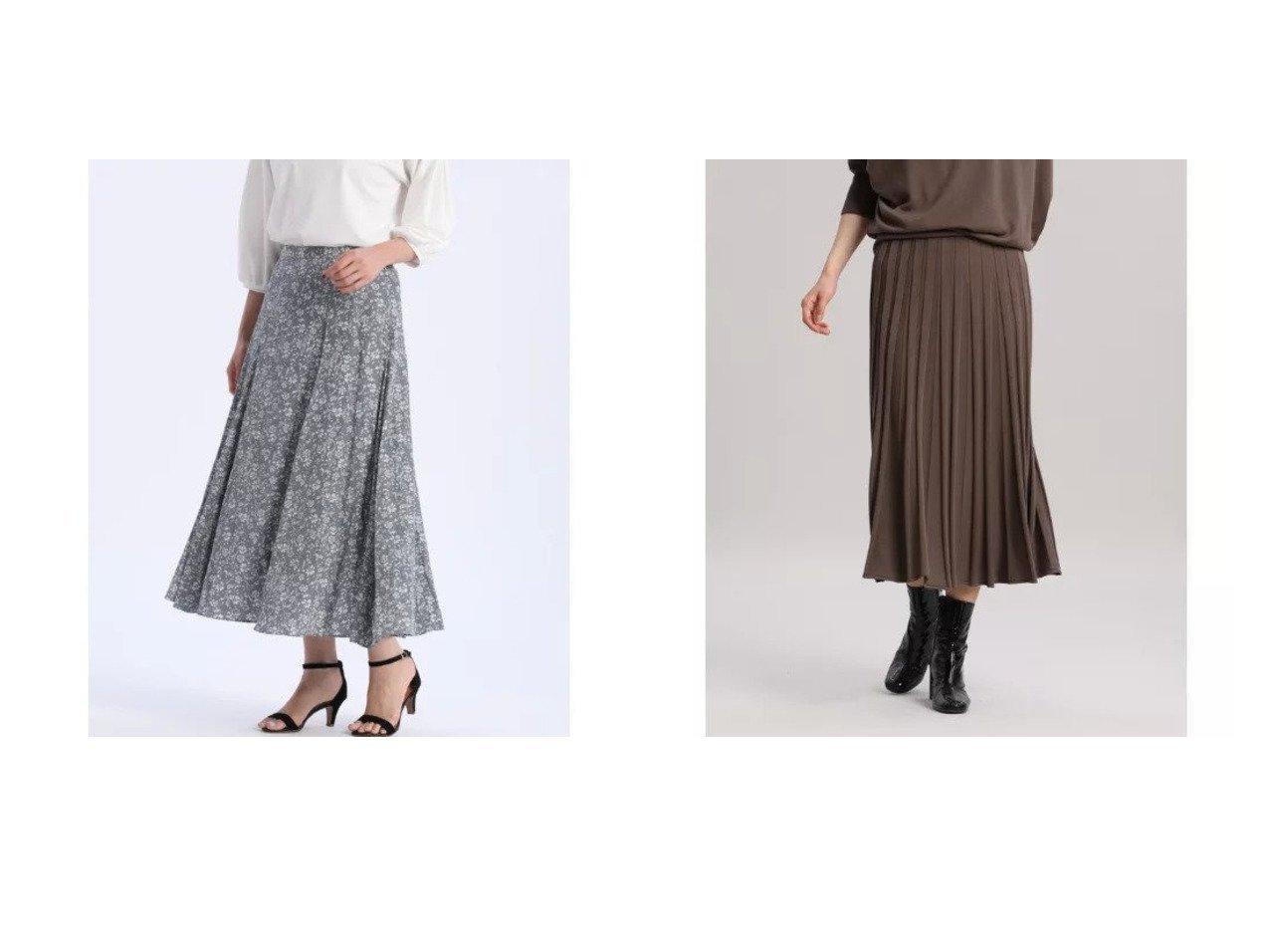【INED/イネド】のホールガーメント(R)ニットフレアスカート《Cuoo》&【7-IDconcept/セブンアイディコンセプト】のプリントフレアスカート 【スカート】おすすめ!人気、トレンド・レディースファッションの通販 おすすめで人気の流行・トレンド、ファッションの通販商品 インテリア・家具・メンズファッション・キッズファッション・レディースファッション・服の通販 founy(ファニー) https://founy.com/ ファッション Fashion レディースファッション WOMEN スカート Skirt Aライン/フレアスカート Flared A-Line Skirts エアリー セットアップ ドレープ フレア プリント ポケット アクリル 吸水 プリーツ ホールガーメント 冬 Winter 夏 Summer  ID:crp329100000065214